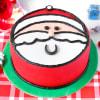 Santa Christmas Fondant Cake (1 Kg) Online