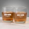 Set of 2 Personalized Whiskey Glasses Online