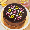 Special Chocolate Cake for Dad (Half Kg) Online