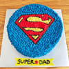 Super Dad Cream Cake (Half Kg) Online
