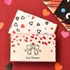 Sweet Love Combo of Roasted Almond Dark Chocolate Bars Online