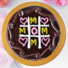 Gift Tic Tac Toe Chocolate Cake for Mom (Half Kg)