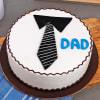 Tie Theme Cake for Dad (Half Kg) Online
