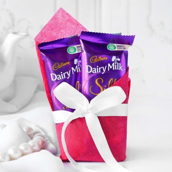 2 Bars of Cadbury Silk