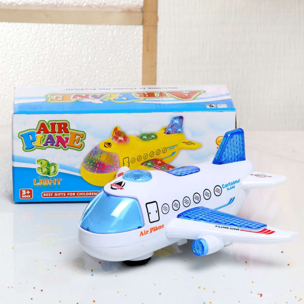 3D Light Airplane toy for Kids: Gift/Send Toys and Games