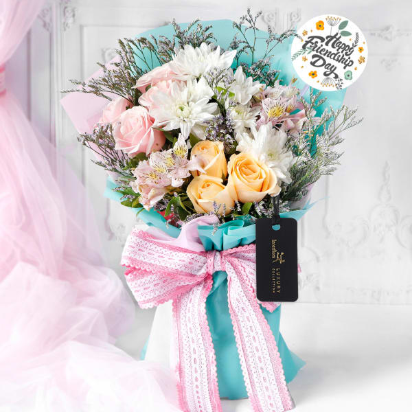 A Bouquet of Friendship Day Wishes