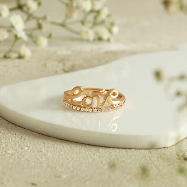 Adjustable Love Ring