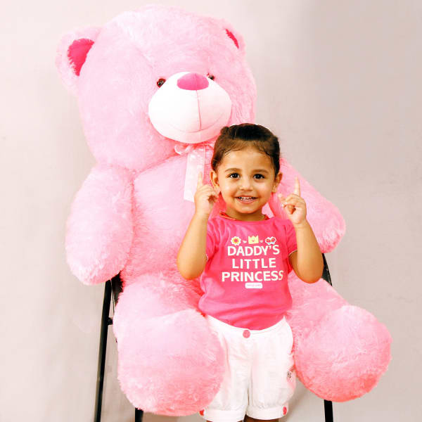 Adorable Pink Teddy Bear