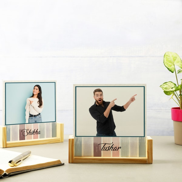 Aesthetic Personalized Sandwich Photo Frame