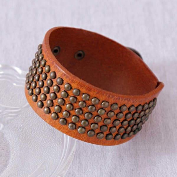 Alluring Coral Wrist Band