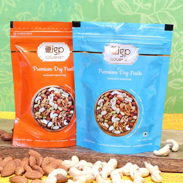 Almonds & Cashews Pack (200 Gms)