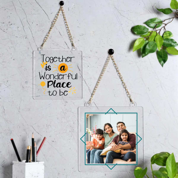 Always Together Personalized Photo Frames (Set of 2)