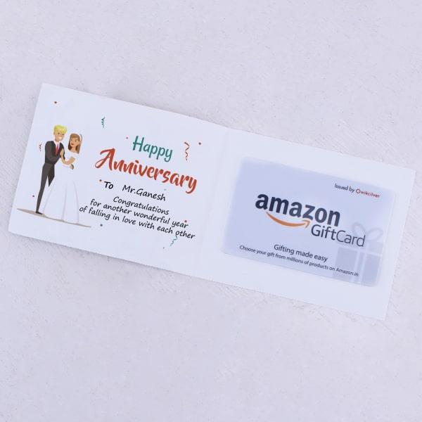 CUSTOM AMAZON GIFT CARDS