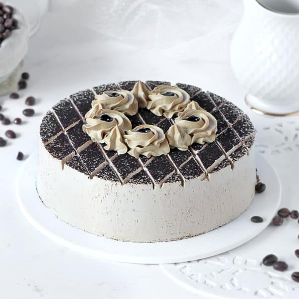 Appetizing Coffee Mocha Cake (Half Kg)