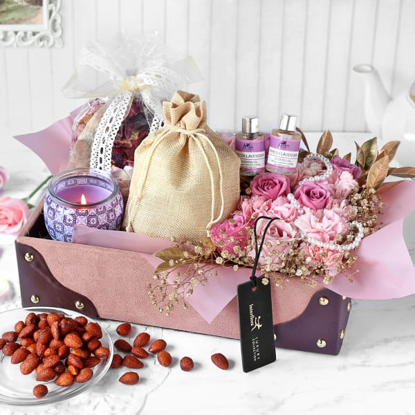 Aromatic Lavender Hamper - Customized with Logo