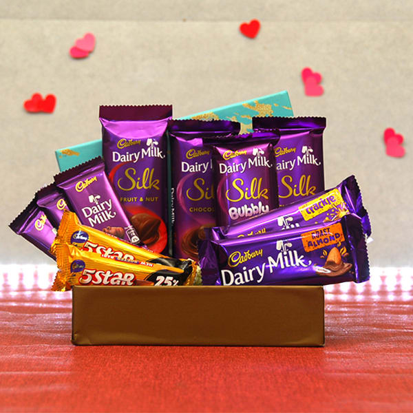 Assorted Cadbury Chocolates in Gift Box