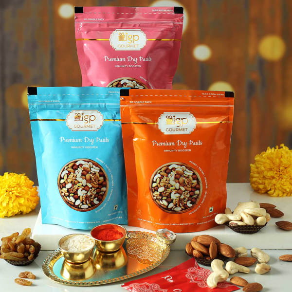 Assorted Dry Fruits With Tikka Thali