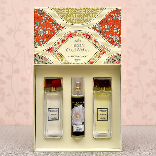 Attar Couple Gift Set of Two with Royal Gardenia Air Spray