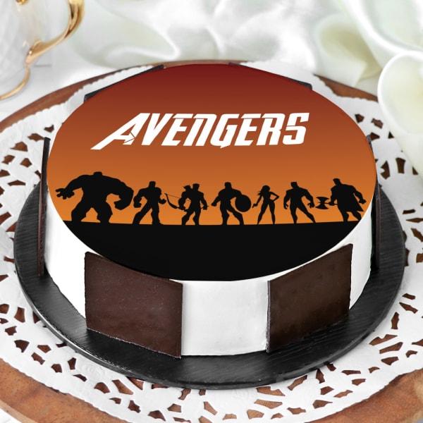 Avengers Cake (Half Kg)