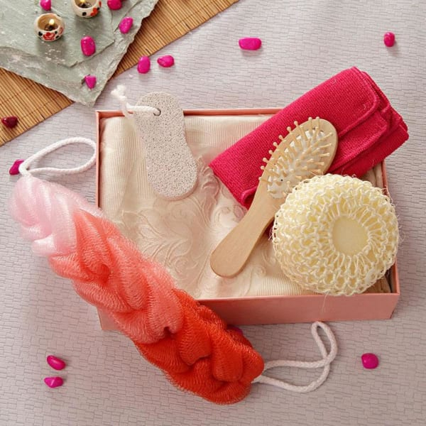 Bathing and Spa Accessories Gift Set