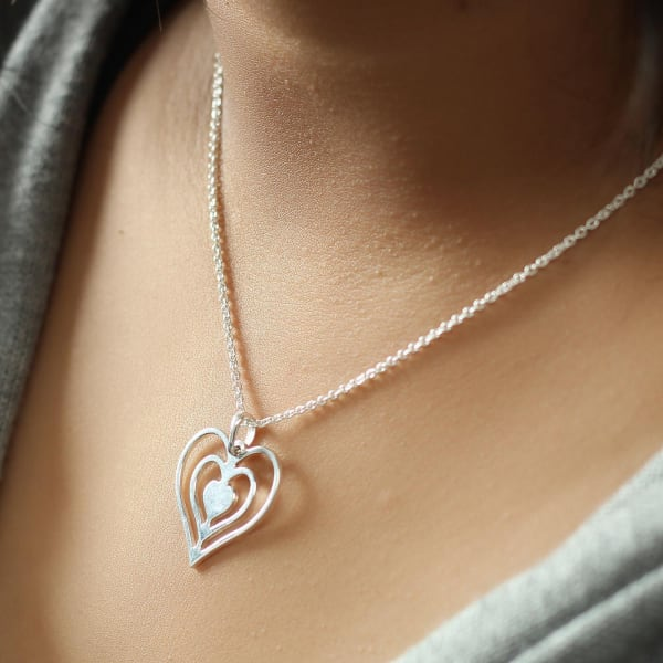 Beating Heart Pendant Necklace