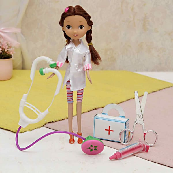 Beautiful Doctor Themed Play Set for Kids