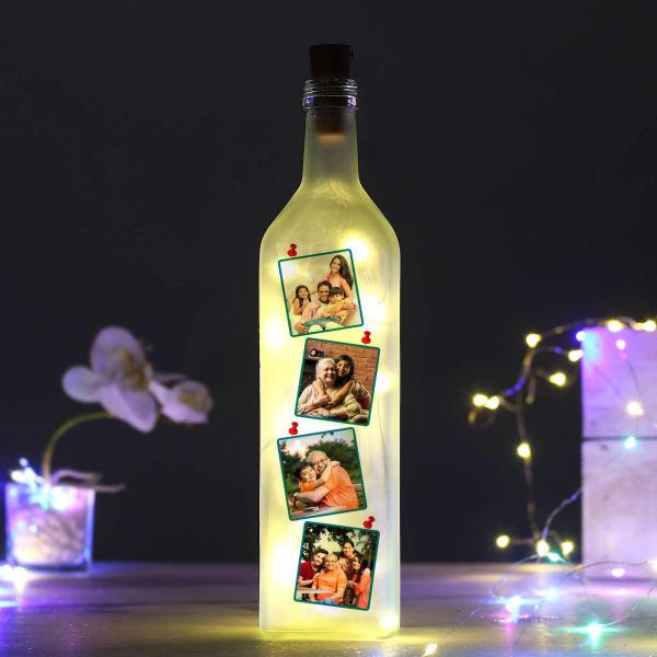 Beautiful Memories Personalized Bottle Lamp