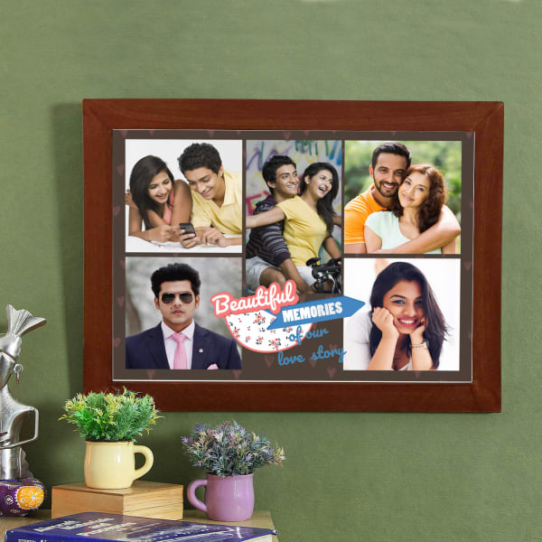 Beautiful Memories Personalized Photo Frame Gift Send