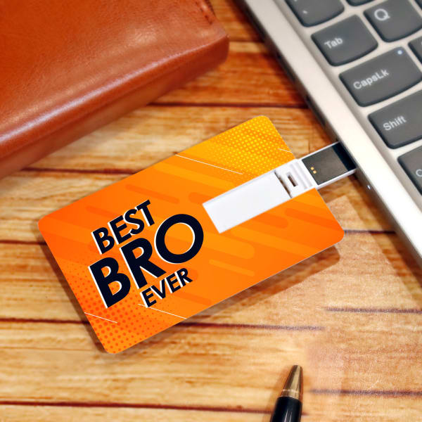 Best Bro Ever Card Pen Drive (64 GB)