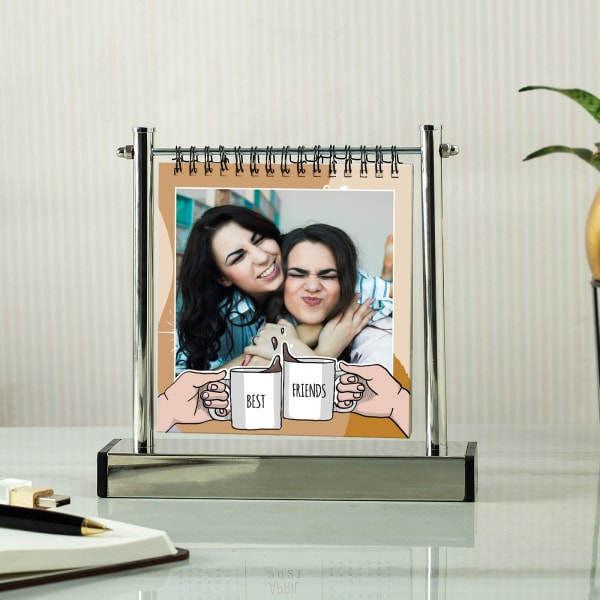 Best Friends Personalized Metal Photo Stand