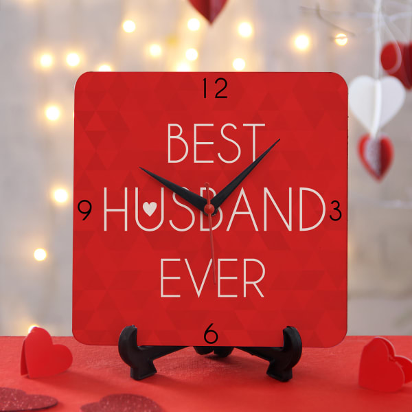 Best Husband Clock: Gift/Send Home And Living Gifts Online