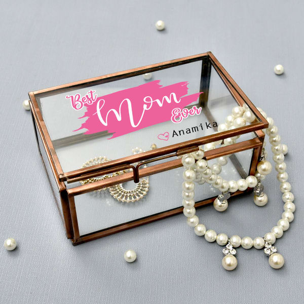 Best Mom Personalized Jewellery Box