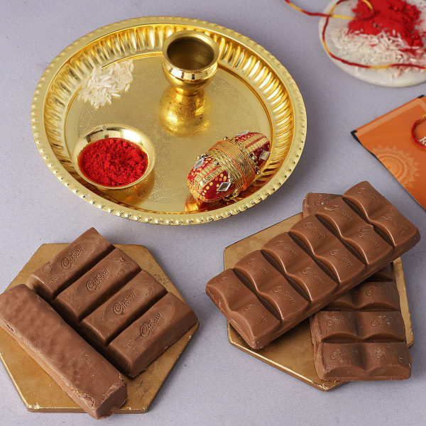 Bhai Dooj Tilak Thali With Premium Chocolates
