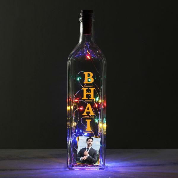 Bhai Personalized LED Light Bottle