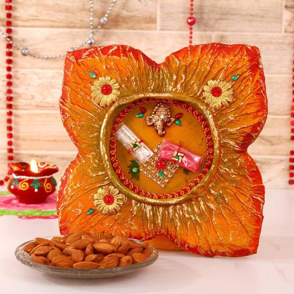 Bhaidooj Tikka Thali with Almonds