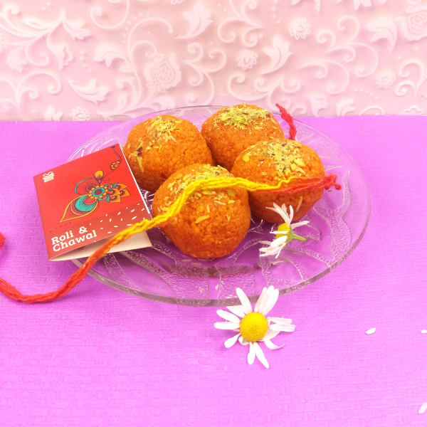 Bhaidooj Tikka with Delicious Motichoor Laddoo 225 Gms
