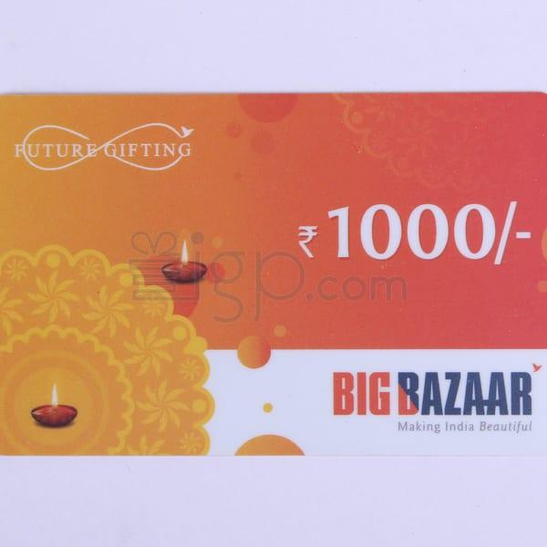 Big Bazaar Gift Card - Rs. 1000