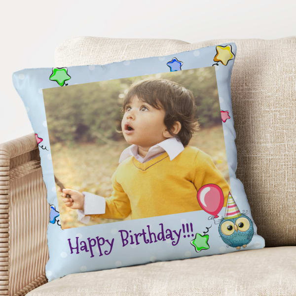 Birthday Personalized Cushion For Kids Gift Send Home And Living