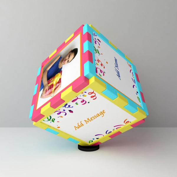 Birthday Personalized Magic Cube