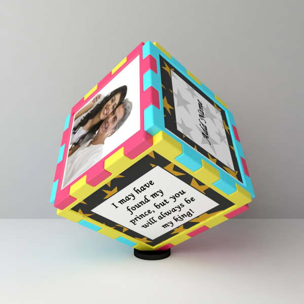 Birthday Personalized Magic Cube For Dad