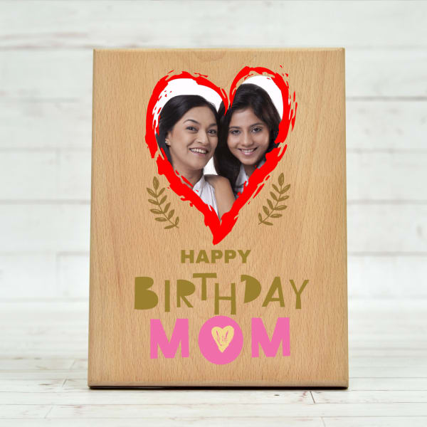 Birthday Special Personalized Photo Frame For Mom Gift Send Home And Living Gifts Online L11097088 Igp Com