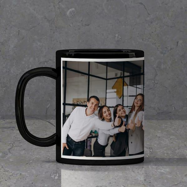 Black Ceramic Mug - Fully Customized