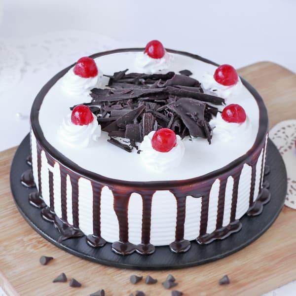Black Forest Cake Half Kg Order Cakes Online Hd1013461