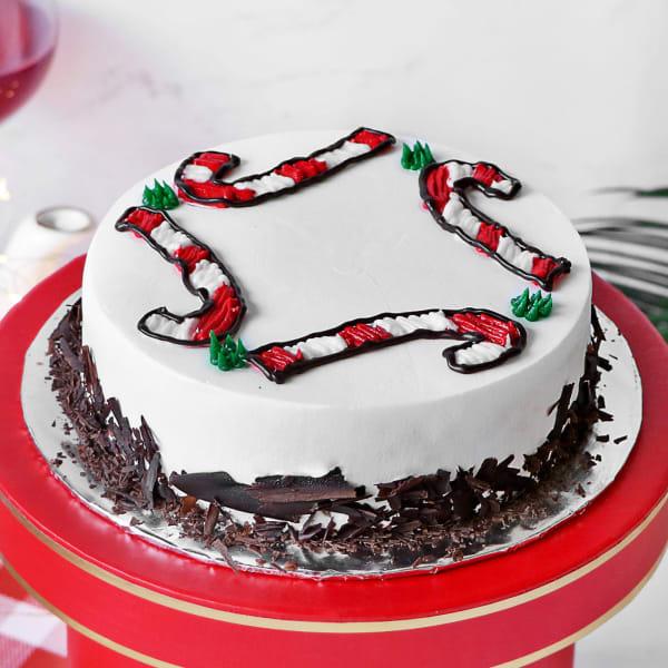 Black Forest Christmas Cake (Half kg)