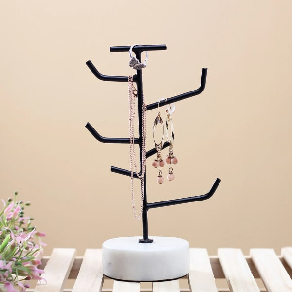 Black Tree Tower for Jewelry