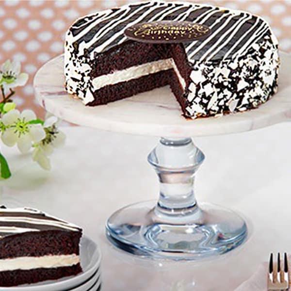 Black & White Mousse Cake - 600 gms
