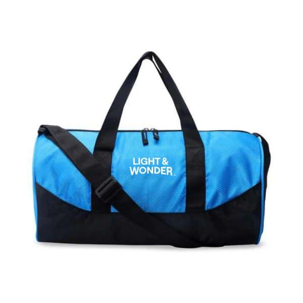 Blue Panama Unisex Gym Bag