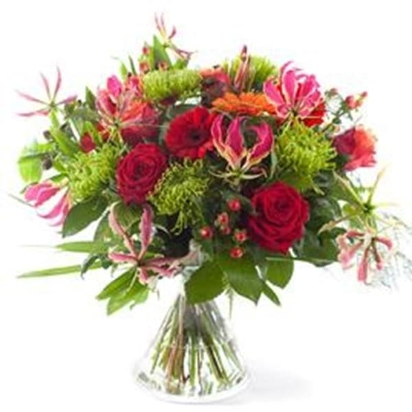 Bouquet Hurray, excl. vase