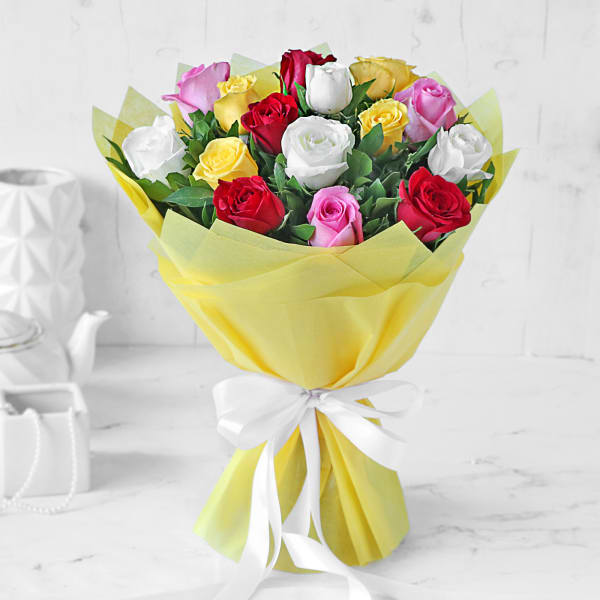 Bouquet of Assorted Roses