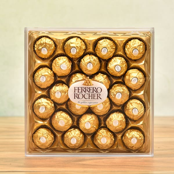 Box of Delicious Ferrero Rocher Chocolates 24 pcs : Gift/Send Gourmet Gifts  Online L11034346 |IGP.com